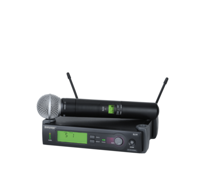 SLX24/SM58 (WIreless Microphone System with SLX2/SM58 Handheld Transmitter)