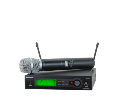 Shure SLX24/SM86 (Wireless Microphone System with SLX24/SM86 Handheld Transmitter)