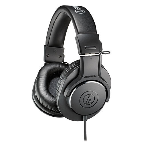 Audio Technica ATH-M20X professional monitoring headphone