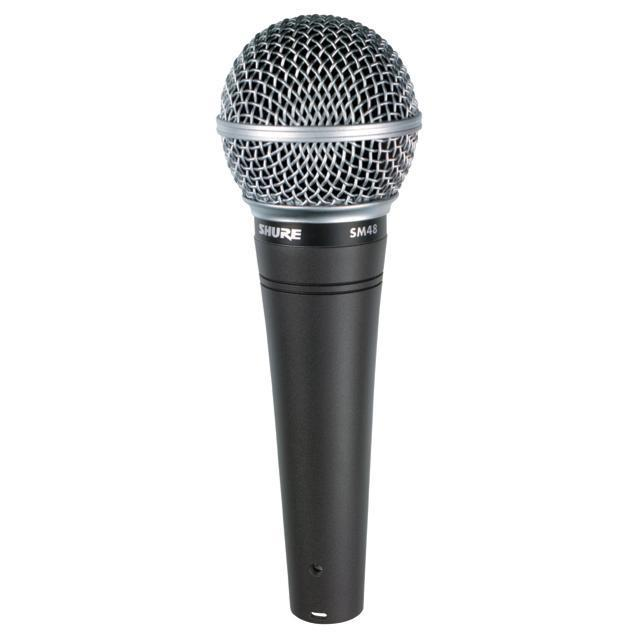Shure SM48 wired vocal microphone