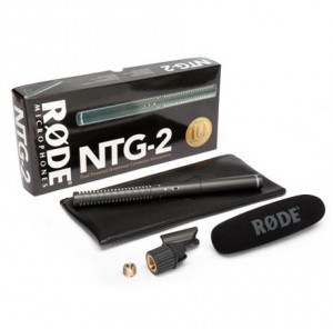 Rode NTG2 Dual powered directional condenser shotgun microphone