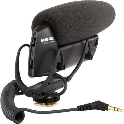 Shure VP83 DSLR microphone