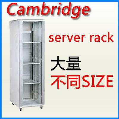 Cambridge server rack 22U 800 x 600 落地型 電腦機櫃