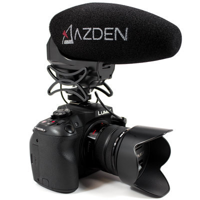 Azden SMX-30 (Stereo/Mono Switchable  Video Microphone)