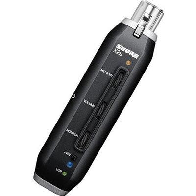 Shure X2u - XLR to USB Microphone Signal Adapter