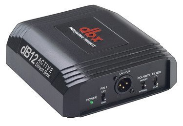 DBX db12 Audio Direct Box (Active)
