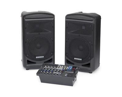 Samson Expedition XP800 portable speaker with mixer