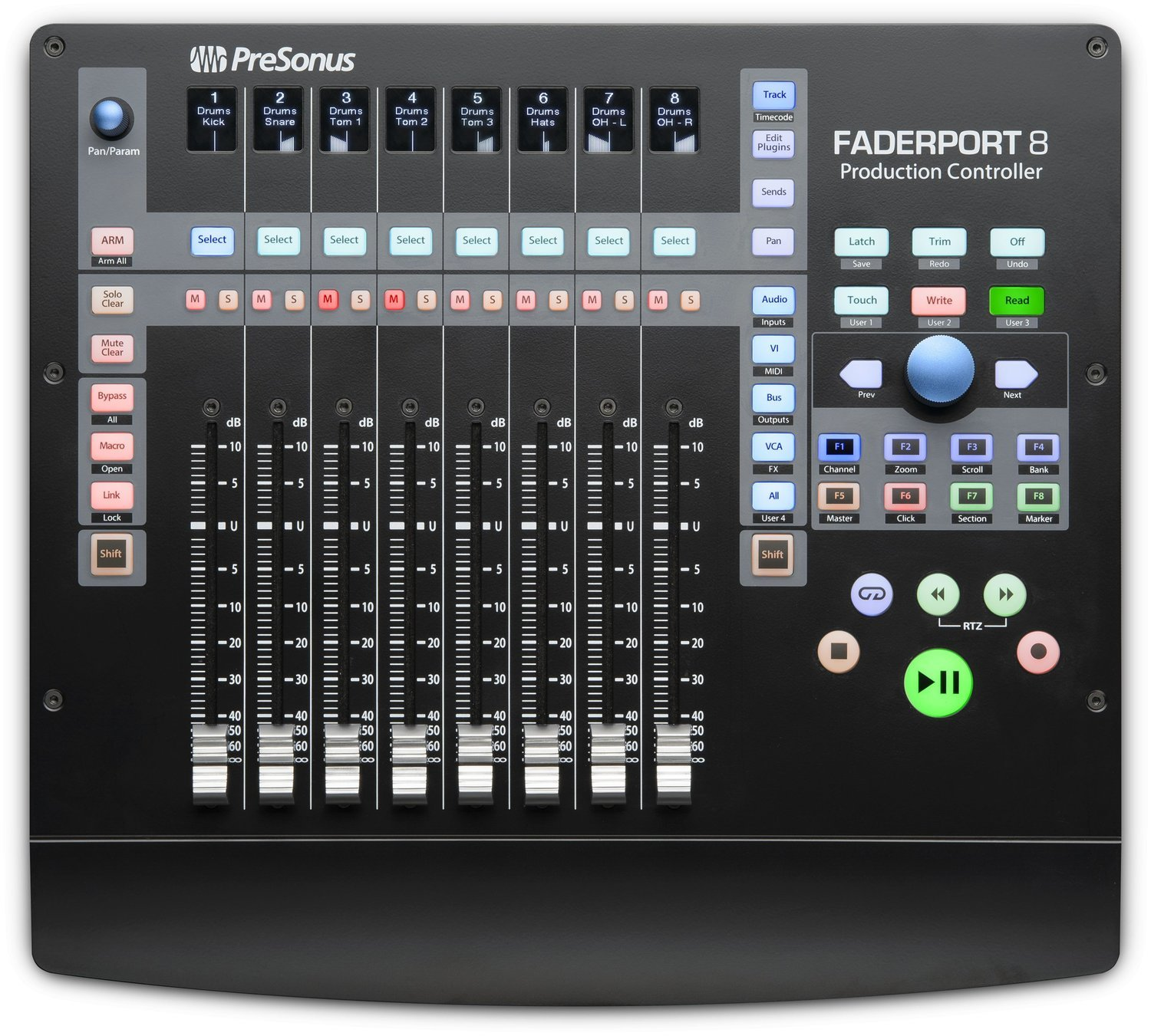 Personus FaderPort 8 Production Controller