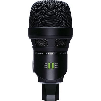 Lewitt DTP 640 REX Dual-Element Bass Drum Microphone