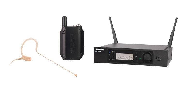 Shure GLXD14R/MX53 Headworn Wireless System (2.4Ghz digital)
