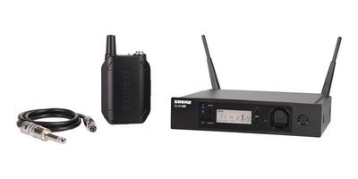 Shure GLXD14R Guitar Wireless System with WA302 guitar cable (2.4Ghz digital)
