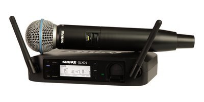 Shure GLXD24/B58 Handheld Wireless System