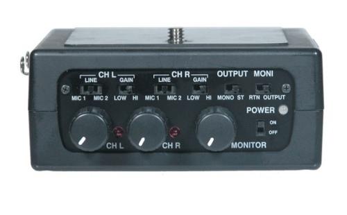 Azden FMX-DSLR microphone phantom power
