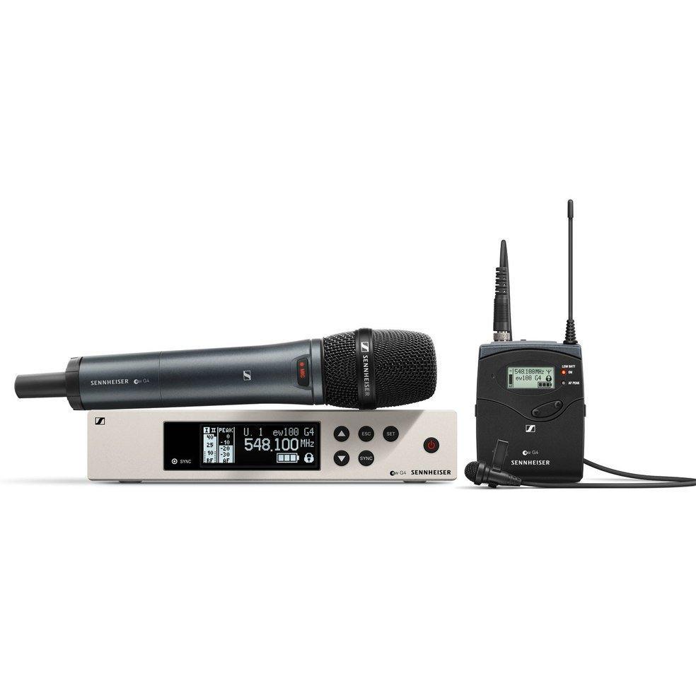 Sennheiser EW 100 G4-ME2/835-S combo wireless system
