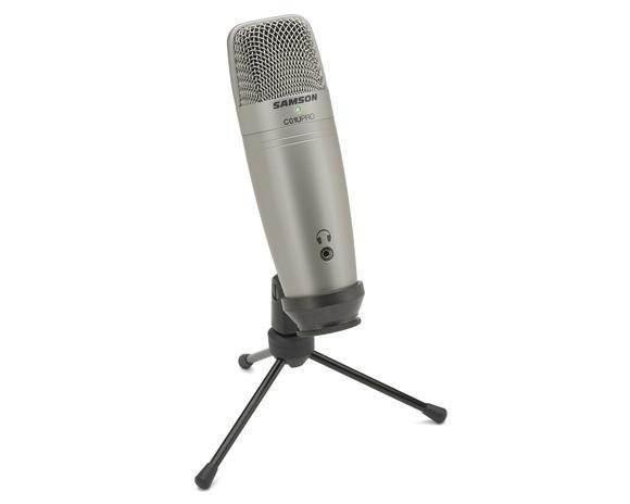 Samson C01U Pro (USB Studio Condenser Microphone)