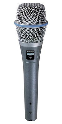 Shure Shure BETA 87A人聲話筒 vocal microphone