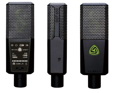 LEWITT DGT 650 USB microphone