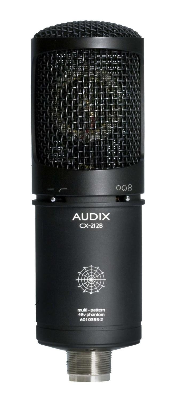 Audix CX212B (Large Diaphragm Multi-Pattern Studio Condenser Mic)