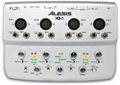 Alesis io4 Audio Interface   電腦USB錄音界面