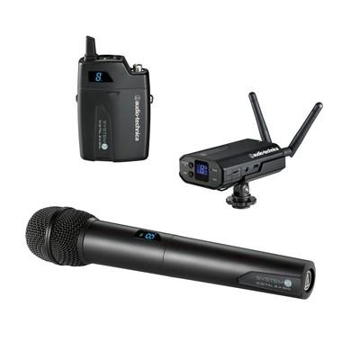 Audio Technica System 10 Camera-Mount Portable Camera-Mount Digital Wireless Systems