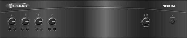 Crown amplifier 180MA