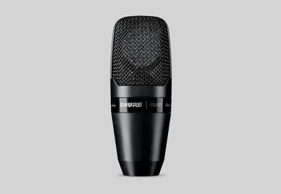 Shure PGA27 Large Diaphragm Side-Address Cardioid Condenser Microphone