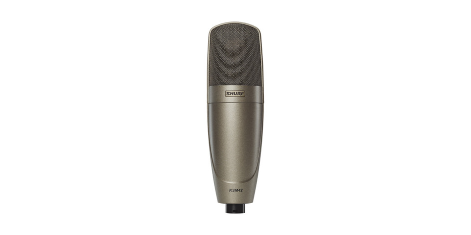 Shure KSM42 Large Dual-Diaphragm Vocal Microphone
