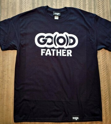 GO(O)D Father tee-black/white