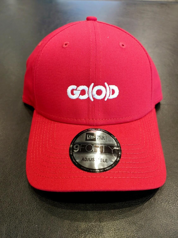 GO(O)D Company x New Era-red/white logo