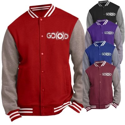 Men's GO(O)D Varsity Jacket *Made To Order*
