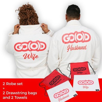PLUSH GO(O)D Robe Set + Bags and Towels