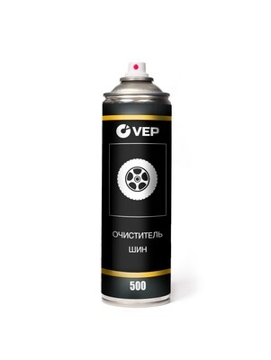 VEP Очиститель шин 500 мл