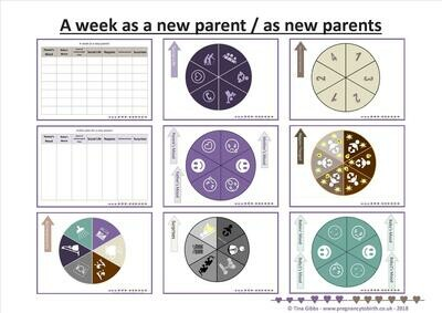 A week as a new parent (print-your-own)