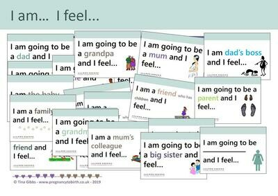 I am... I feel... (print-your-own)