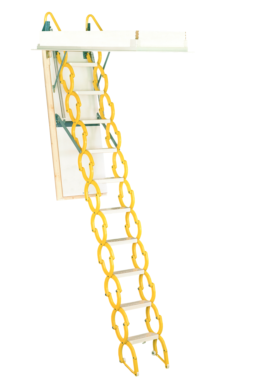 Rainbow Prestige Telescoping Attic Stair - Yellow M2254