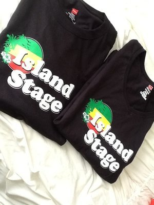 New Island Stage T-Shirt-Men's