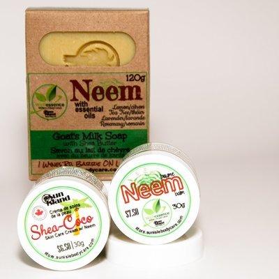 NEEM Skin Care Sampler (bundle) BNDL SMPL-005