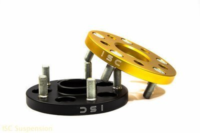 GOLD ISC 5x100 to 5x114.3 Wheel Adapters 15mm
