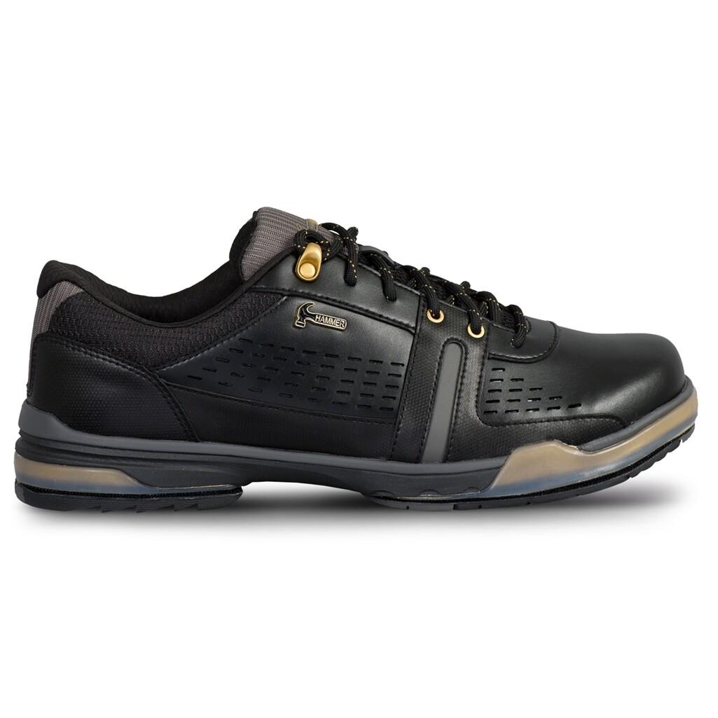 Hammer Boss Black/Gold Mens Bowling Shoes