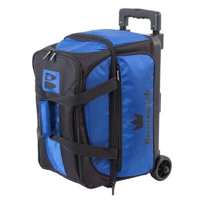 Brunswick Blitz 2 Ball Roller Black/Blue Bowling Bag