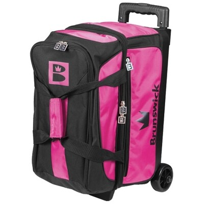 Brunswick Blitz 2 Ball Roller Black/Pink Bowling Bag