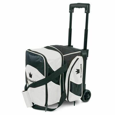 Brunswick Edge Single Roller Black/White Bowling Bag