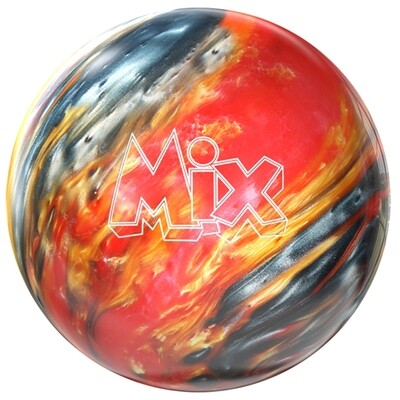 Storm Mix Red/Silver/Gold Bowling Ball
