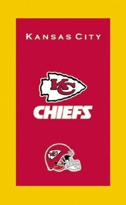 KR NFL Bowling Towel Kansas City Chiefs