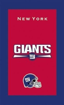 KR NFL Bowling Towel New York Giants