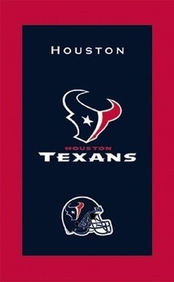 KR NFL Bowling Towel Houston Texans