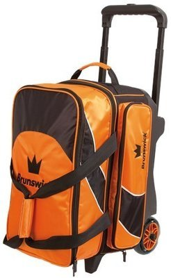 Brunswick Edge 2 Ball Roller Orange/Black Bowling Bag