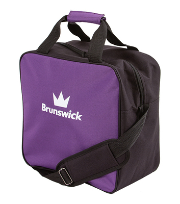 Brunswick TZone Purple 1 Ball Bowling Bag