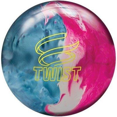 Brunswick Twist Sky Blue/Pink/Snow Bowling Ball