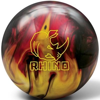 Brunswick Rhino Red/Black/Gold Bowling Ball